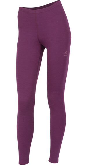 Aclima W's WarmWool Longs Pants Grape Wine